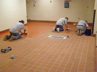 Commercial Kitchen Floors From Slippery Tile To A Seamless Floor