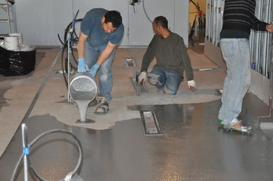 Epoxy Flooring For Commercial Kitchens How To Apply Metallic Epoxy Over  Existing Formica Countertops