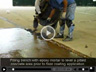 concrete floor repair